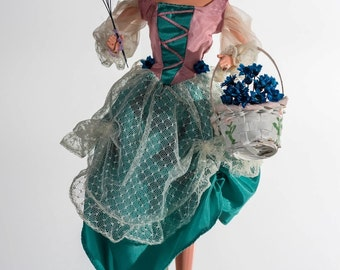 Flower Girl Barbie Redress