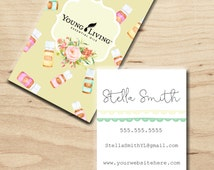 Young Living Business card-Personalized Digital Copy