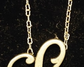 JK by Thirty-One Monogram Initial Necklace