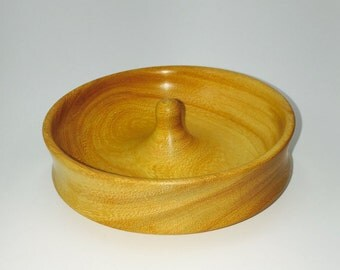 Ladies Jewelry Dish made from Osage Orange wood