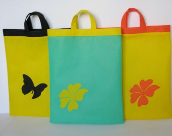 Eco bags made of spunbond, a large selection, from the manufacturer
