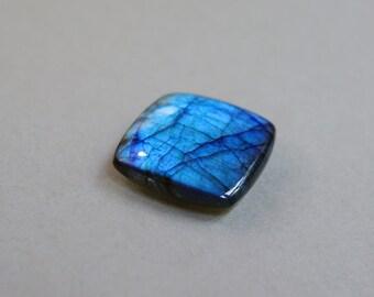Blue Flash Labradorite Cabochon.