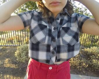 Crop Top Flannel