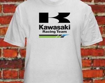 Kawasaki Racing Team T Shirts Free Shipping