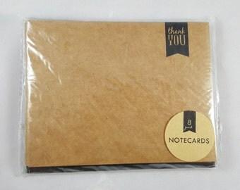 Thank You Cards, Kraft Notecards, Blank Notecards, Target Dollar Spot