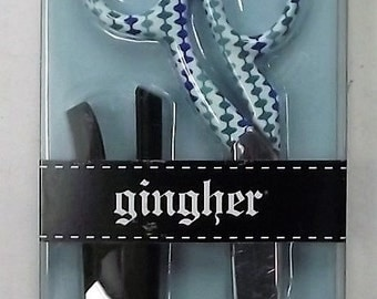 "Gingher 220522 Limit Edition Barbara Designer 8"" Knife Edge Dressmaker Scissors"