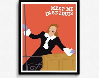 Meet Me In St. Louis Poster- The Trolley Song, Judy Garland