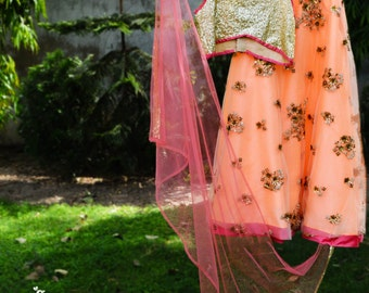 The Sun-Kissed Spring Lehenga