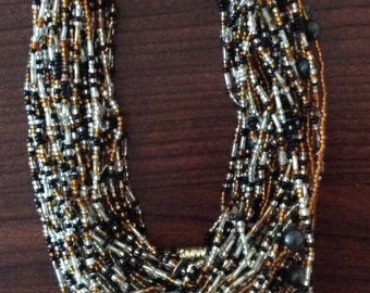 South African Beaded Necklace 4