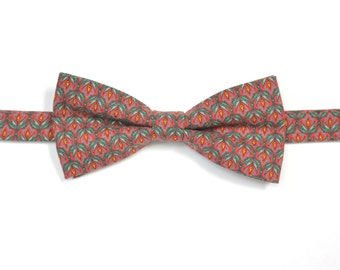 Fine bow tie-100% cotton - Neckwear - Made in Canada