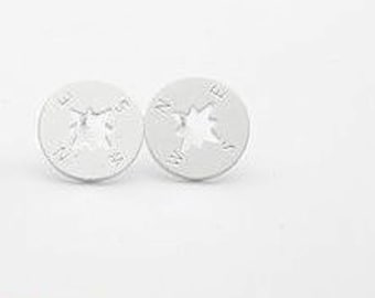 Find Your Compass Earrings