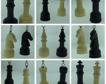 Chess Piece Earrings