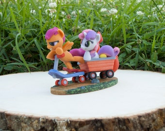 Cutie Mark Crusaders My Little Pony Friendship is Magic Sweetie Bell Scootaloo Apple Bloom Hasbro SuperFanArt Brony MLP Fan Favorite SFA