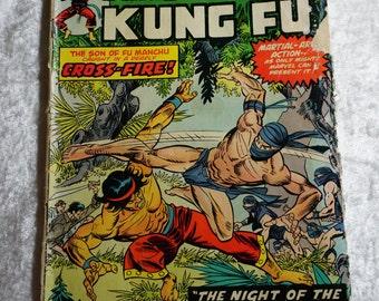 Vintage Marvel Comics, Bronze Age Master of Kung Fun #24,  Ready To Ship,  Vintage Comics, Graphic Novel