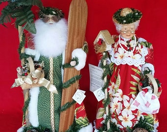 Surfin Santa and Tropical Tutu Christmas Delight