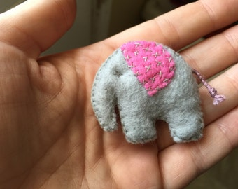 Felt Elephant