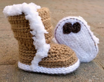 Crochet Baby Shoes Pattern Baby Booties Photo Prop