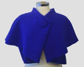 Cobalt blue CAPELET M/L