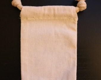 Muslin bag 3x4 (set of 25)