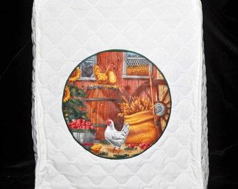 KitchenAid Professional Mixer Cover - Barnyard Chickens