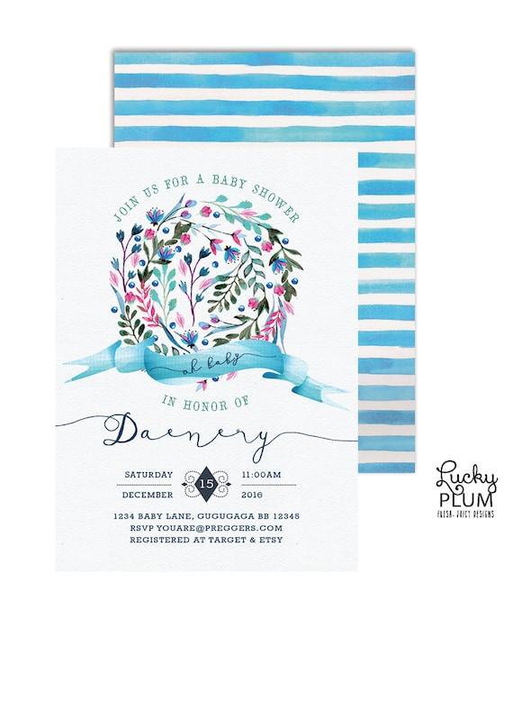 winter baby shower invitation winter wonderland birthday invite