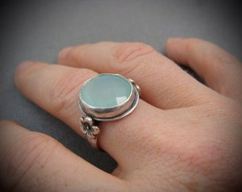 paradise ... chalcedony cocktail ring