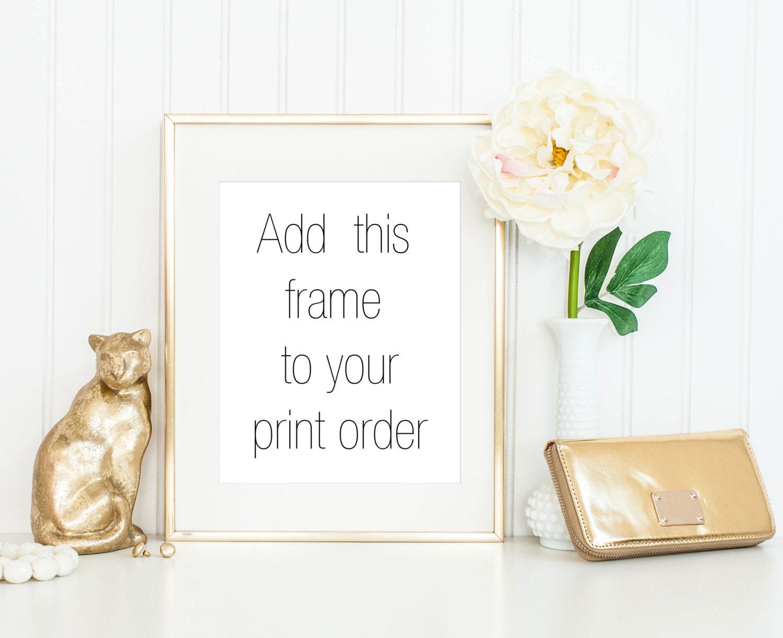 8x10 gold frame 11x14 gold frame 5x7 gold frame thin gold frame