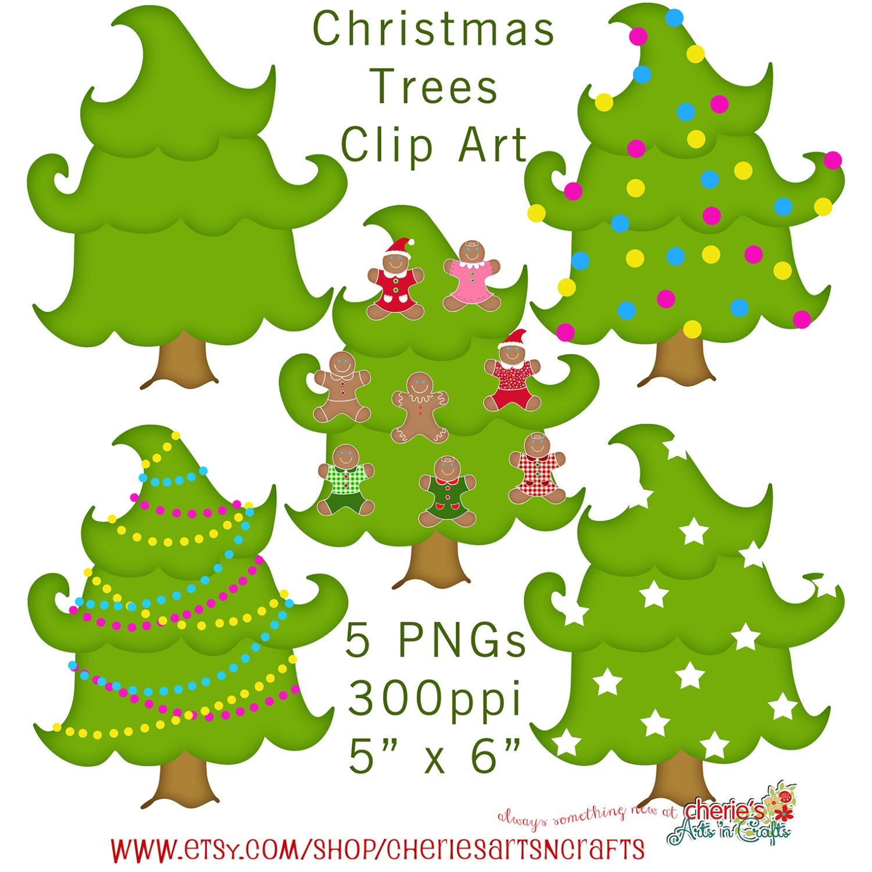 Christmas Trees Clip Art Christmas Cliparts Christmas