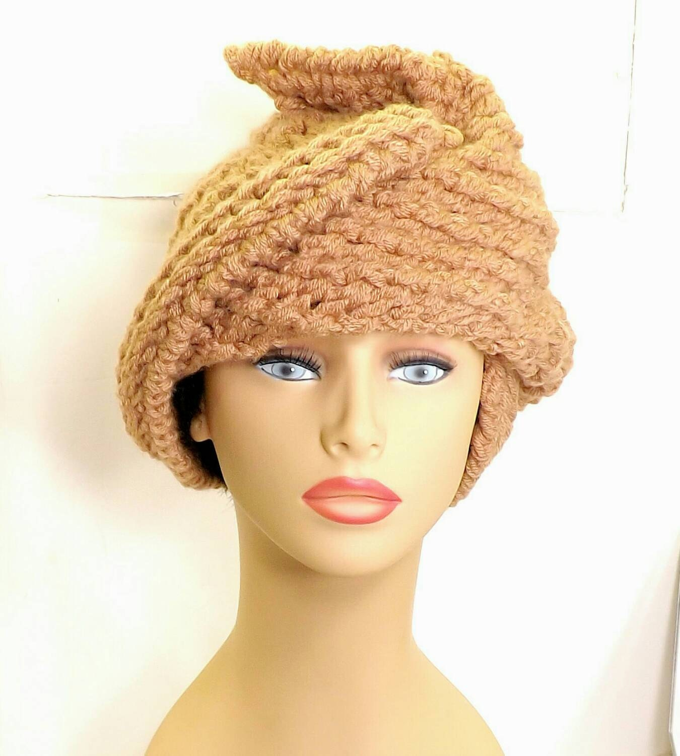 unique etsy crochet and knit hats and patterns by