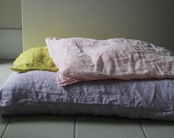 LINEN PILLOW CASE - bed linen / linen bedding / eco / linen pillow sham / euro / organic / flax / made in australia / pamelatang