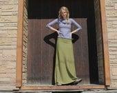 Hemp Winter Maxi Skirt