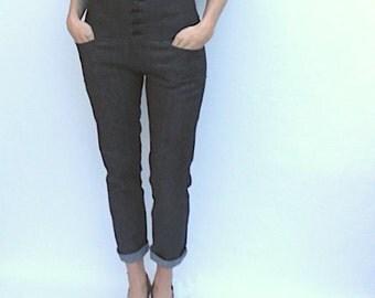 MIDNIGHT DENIM High Waist Skinny Jeans