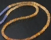 6mm Imperial Topaz & Tanzanite Necklace - 20""