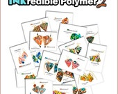 "Polymer Clay Tutorial Alcohol Inks - The Complete ""INKredible2 Polymer"", Alcohol Ink Tutorials 20 PDF's, 20 projects, 26 Videos & CD"