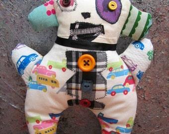 Primitive Folk Art Doll Otto