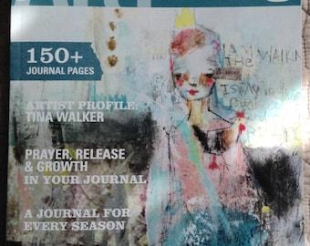 Art Journaling magazine by Somerset Studio-Jan/Feb/March 2016