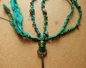 Dreams of the Sea - Skeleton Key and Bead Necklace