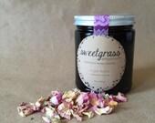 Cardamom + Rose Sugar Scrub - organic, pure essential oils with organic brown sugar