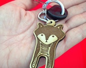NEW Cute Standing Fox Keychain Gift