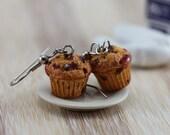 Blueberry Muffin Earrings