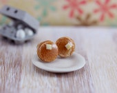 Pancakes - Studs / Post Earrings