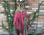 DREAM BOHEMIAN Voodoo Priestess Swamp Witch Doctor Magic Laveau Gypsy Pirate Halloween Costume