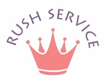 ADD ON - Rush Service