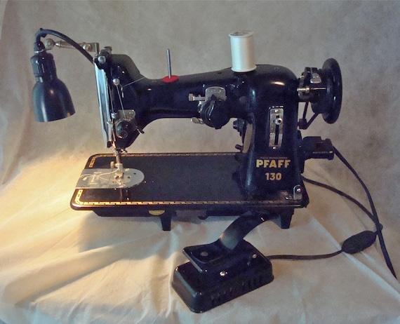 Vintage Pfaff 130 Heavy Duty Industrial Sewing Machine With