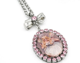 Fairy Jewelry, Fairy Pendant, Fairy Godmother, Godmother Gift, Godmother Necklace, Fairy Necklace