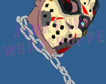 Jason Voorhees Digital art By Tim Cecil