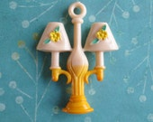 Little Vintage Double Lamp Shade Pull