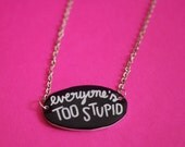 Ghost World Necklace