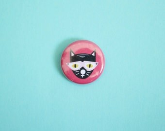 Cool Cat One Inch Button