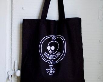 Feminist Forever Skull Tote